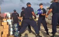 Coast Guard Cutter Crews Bring Supplies to U.S. Virgin Islands