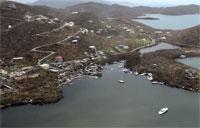 U.S. Navy Conducts Damage Assessments in the U.S. Virgin Islands