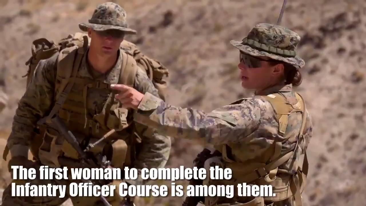 Marine Corps Quietly Drops Major Obstacle to Female Infantry Officers |  Military.com