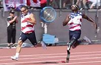 Track at the 2017 Invictus Games