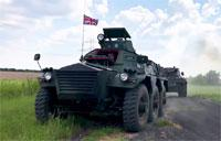 British Armor in Texas