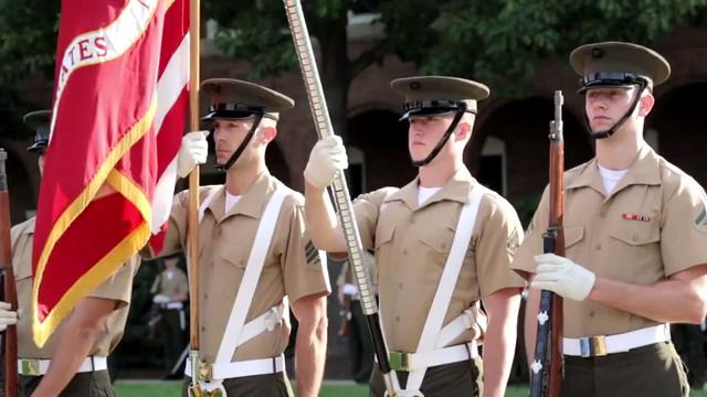 "the embodiment of the marine corps' Military training systems commands collaborate to develop where it makes sense and the charter is the embodiment of that"" the marine corps' program."