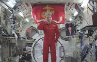 Celebrating the Marine Corps Birthday in Space
