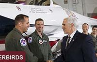 Vice President Pence Visits Nellis AFB