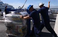 Coast Guard Offloads 47,000 Pounds of Cocaine