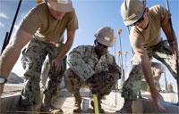 Seabees Build Shower and Restroom Facility