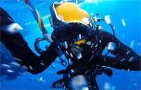 Army Divers in the Pacific