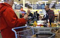 Self Service Bagging Lanes Come to the Peterson Commissary