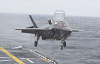 Historic Deployment: F-35B with USS Wasp