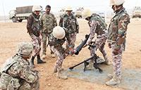 Mortar Training in Jordan