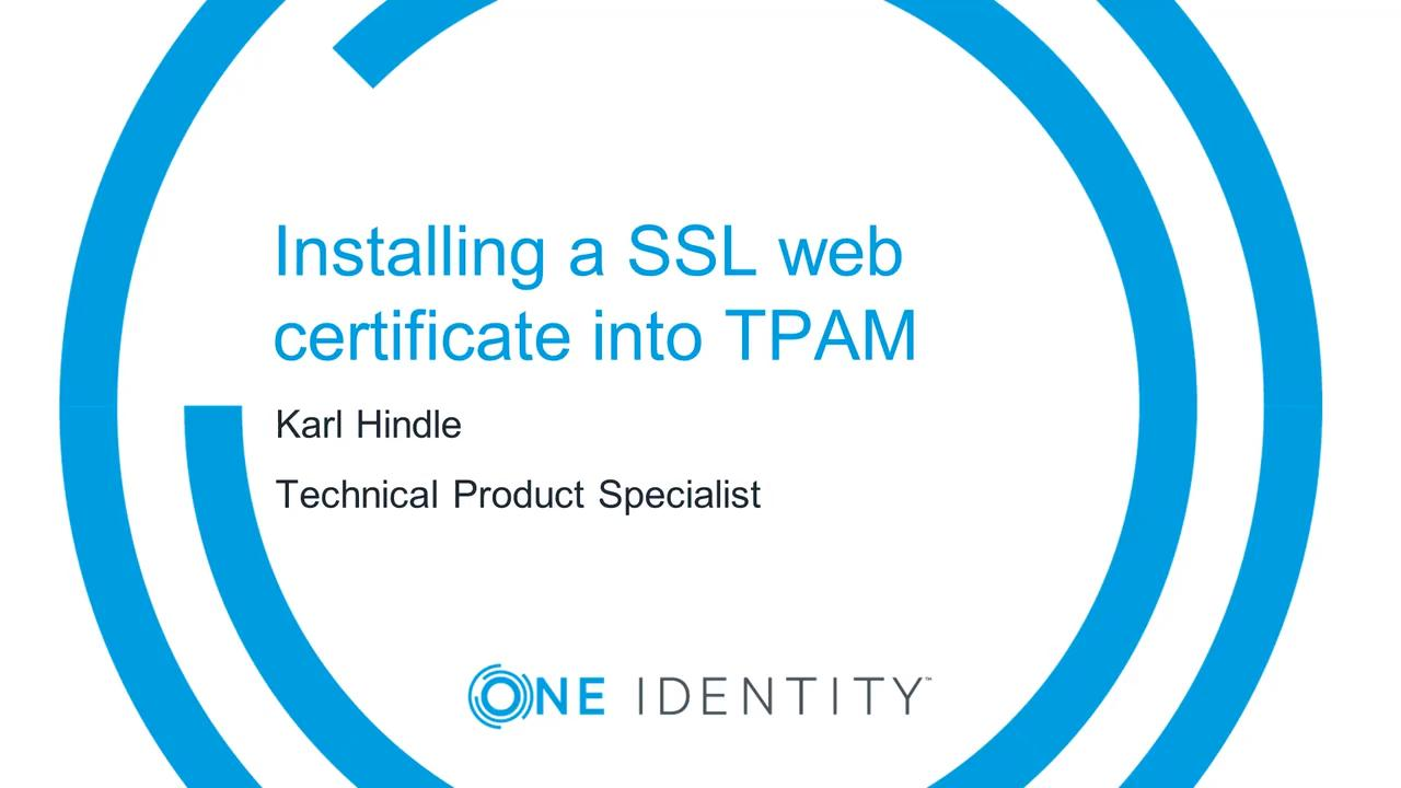 Product Support - TPAM
