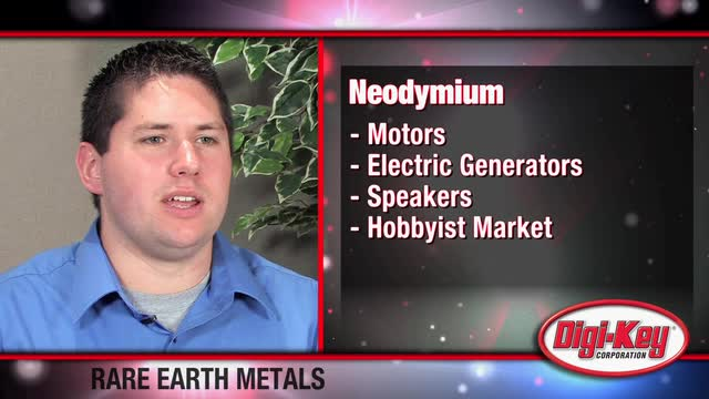 Material Cost - Rare Earth Metals