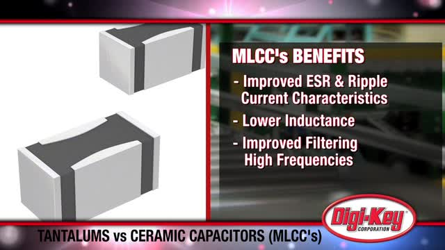 Tantalum Capacitors vs MLCCs