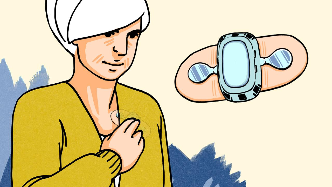Effect of a Home-Based Wearable Continuous ECG Monitoring