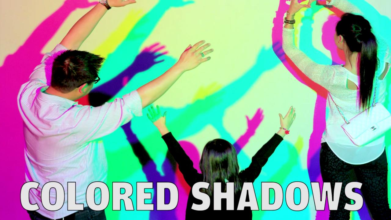 76d3ab454 Exhibit: Colored Shadows | Exploratorium Museum Exhibits